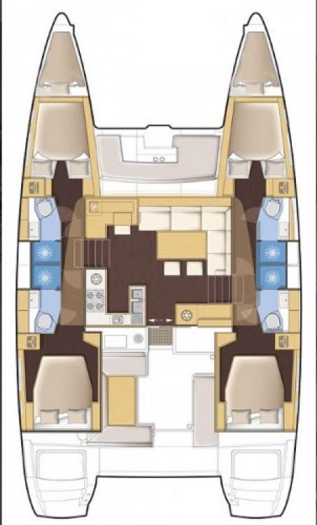 Alquiler Catamarán en Seget Donji - Lagoon Lagoon 450