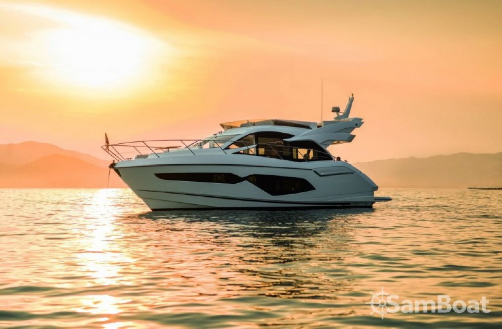 Rental Motor boat in Sukošan - Sunseeker-International Sunseeker Manhattan 52
