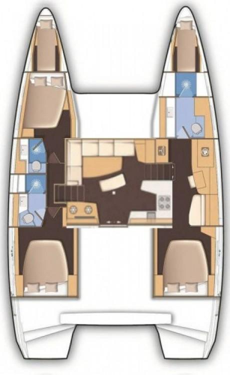 Rental Catamaran in Croatia - Lagoon Lagoon 42