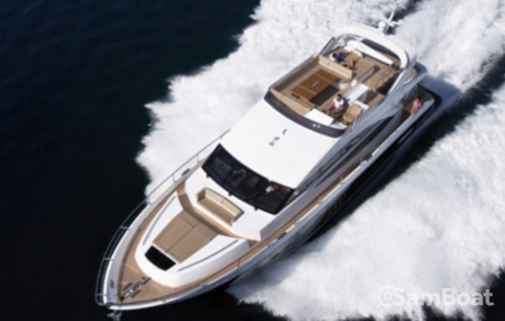 Rental yacht Marina LAV - Princess-Yachts Princess 72 Flybridge - 4 + 1 cab. on SamBoat