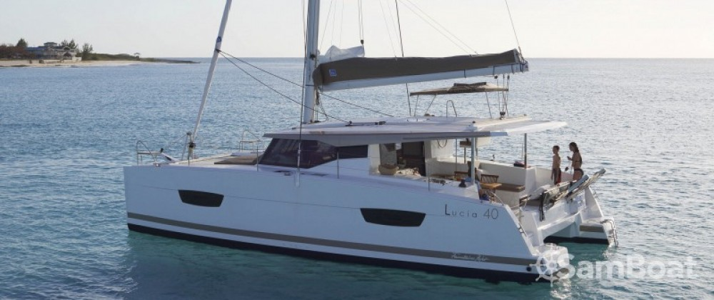 Fountaine Pajot Lucia 40 between personal and professional Míkonos