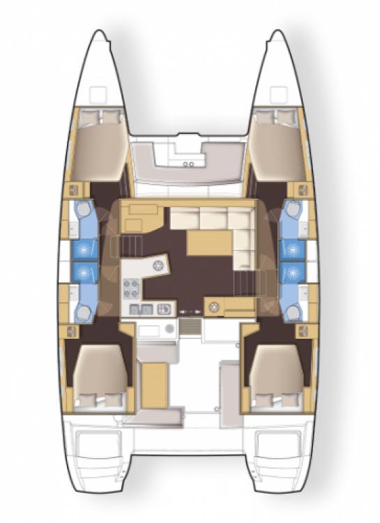 Alquiler de Catamarán, con o sin patrón Lagoon Ionian Islands