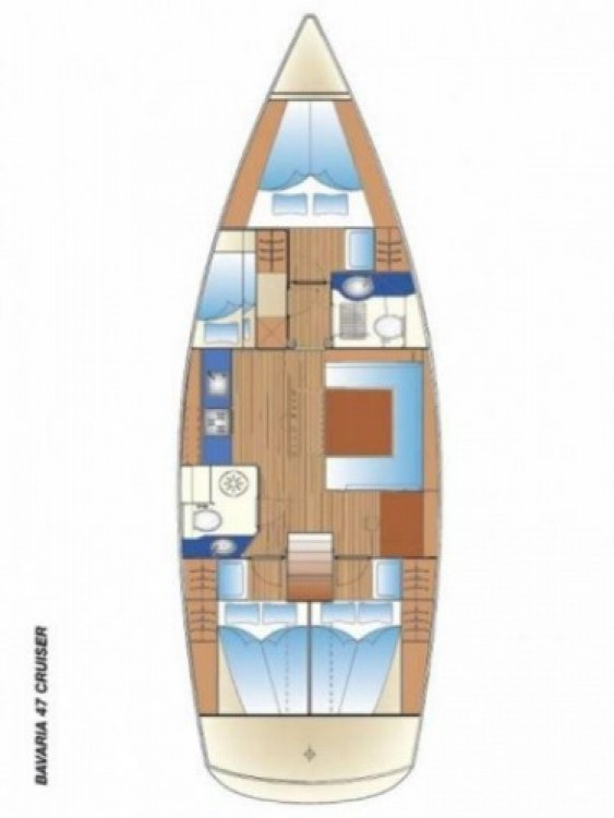 Location yacht à Páros - Bavaria Cruiser 47 sur SamBoat
