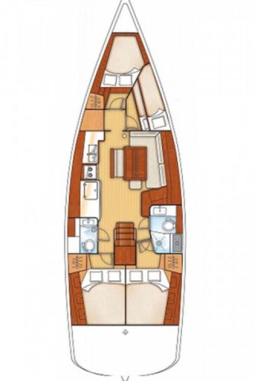 Alquiler de yate Βόλος - Bénéteau Oceanis 46 en SamBoat