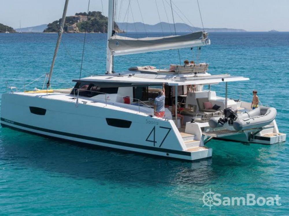 Alquiler de barcos Fountaine Pajot Saona 47 en en Samboat