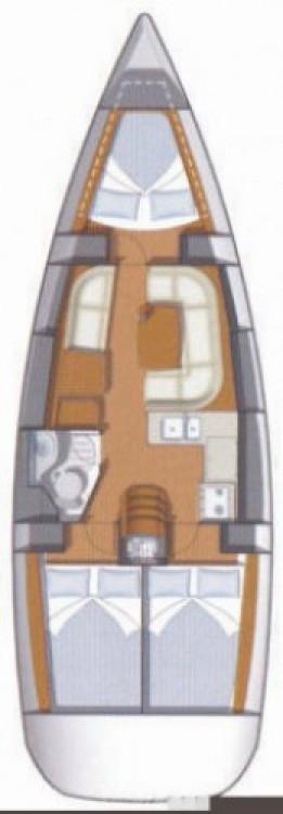 Boat rental Jeanneau Sun Odyssey 36i in Attica on Samboat
