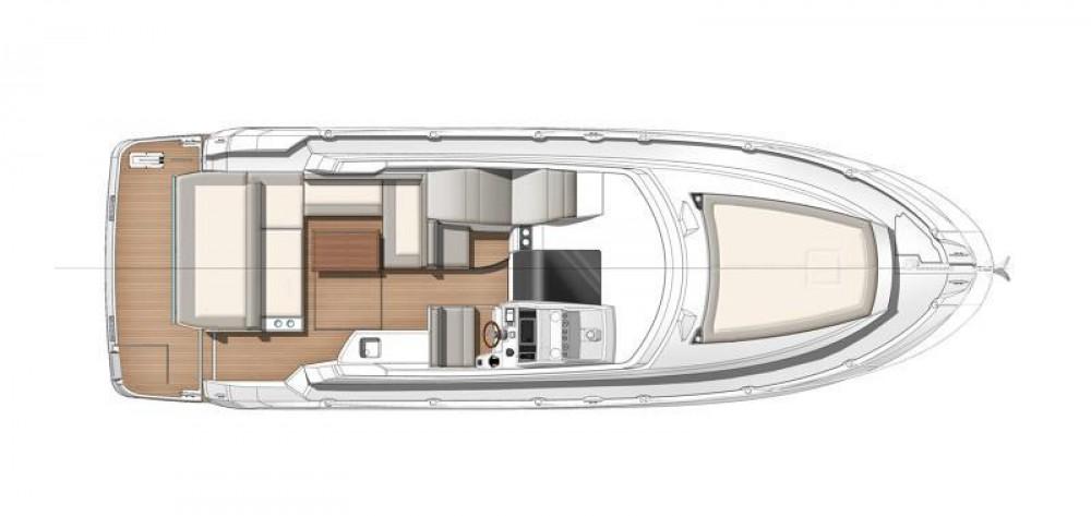 Rental Motor boat in  - Jeanneau Leader 36 Open