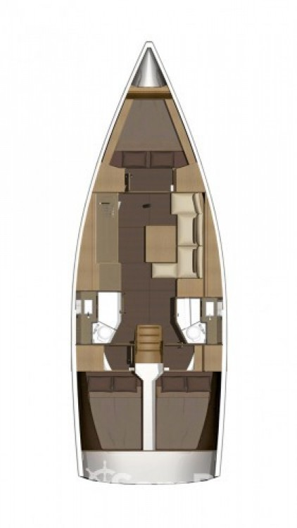 Hire Sailboat with or without skipper Dufour Attica