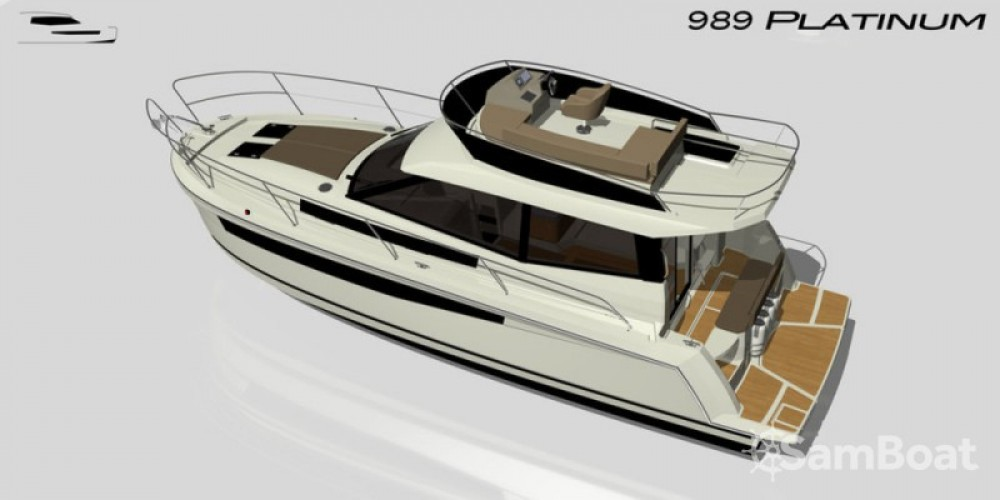 Boat rental Delphia-Yachts Platinum 989 Fly in Kukljica on Samboat