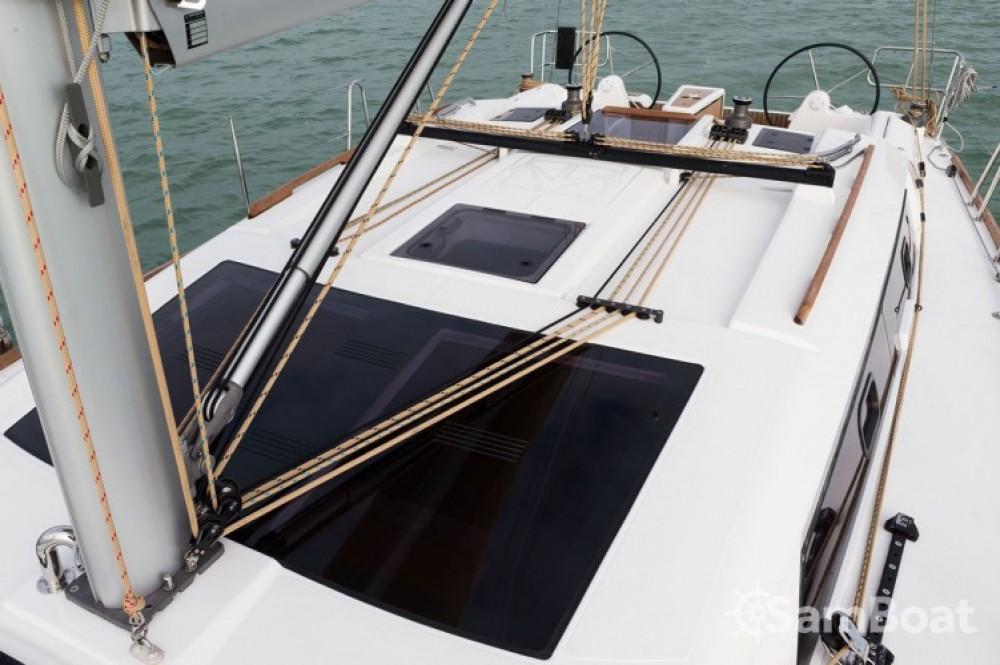 Boat rental Attica cheap Dufour 382 Grand Large