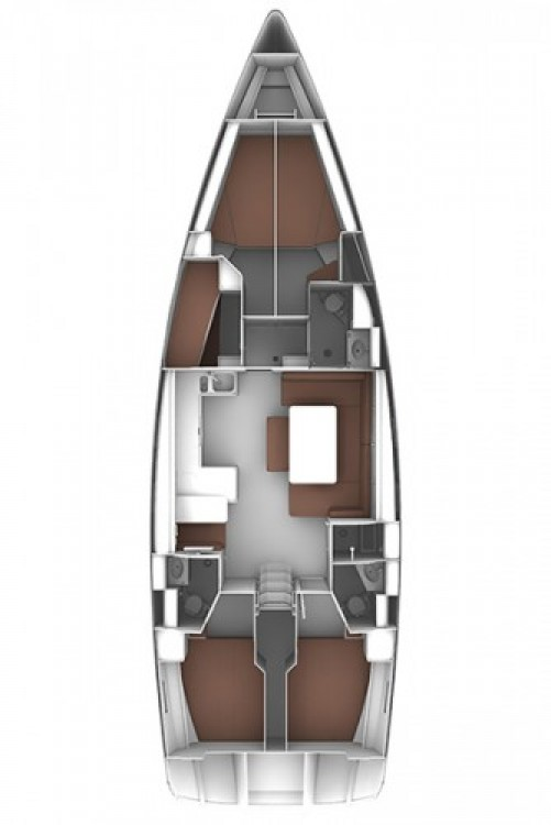 Rental yacht Corfu - Bavaria Cruiser 51 on SamBoat