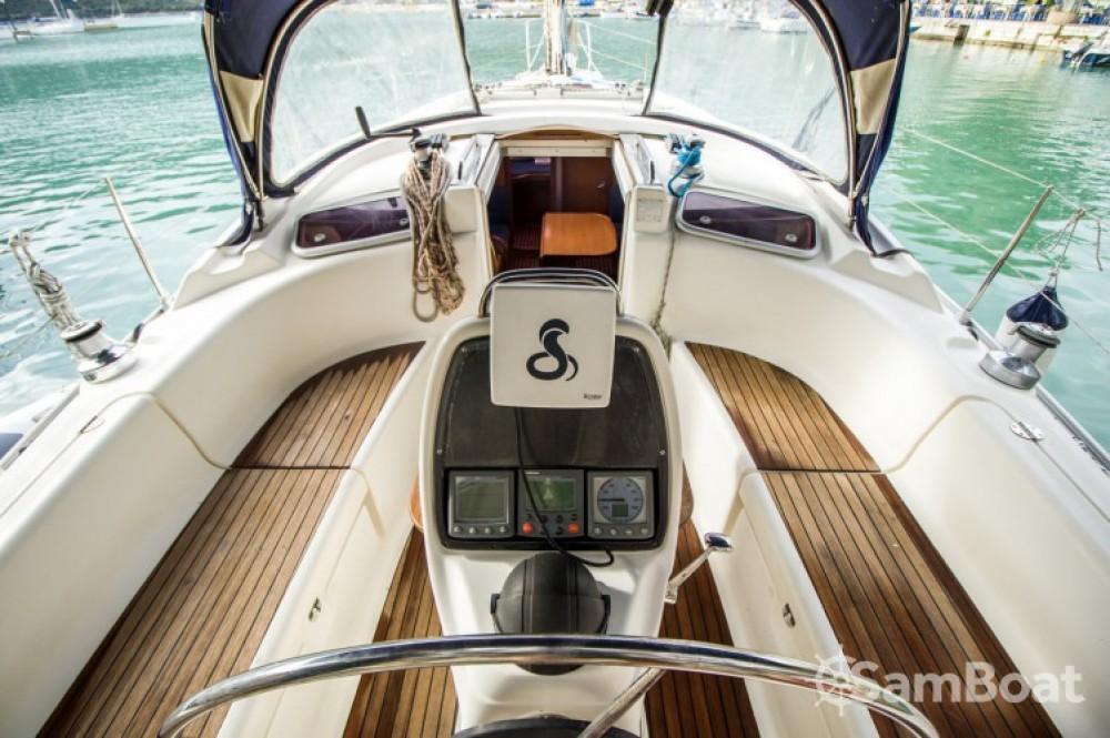 Bavaria Cruiser 37 between personal and professional Leucade
