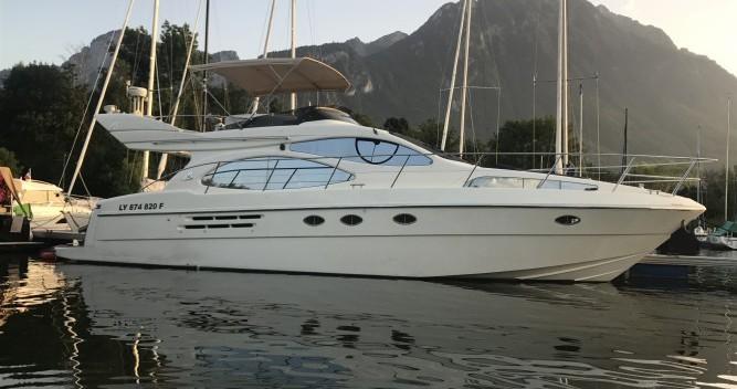 Location bateau Azimut Azimut 46 Evolution à Genève sur Samboat