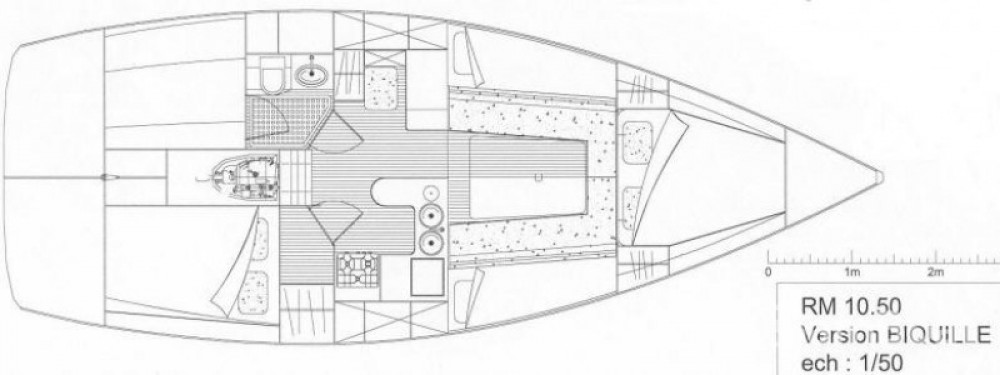 noleggio Barca a vela Locmiquélic - Rm RM 1050