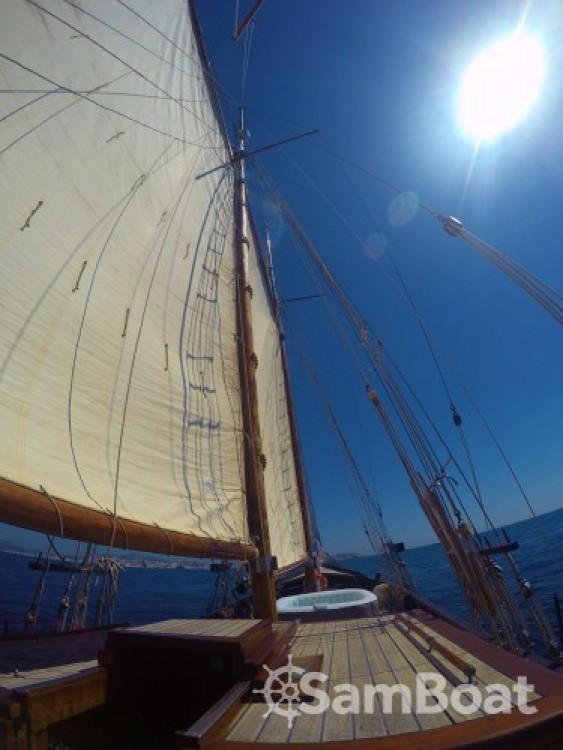 Boat rental Marseille cheap GOELETTE