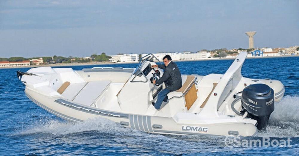 Boat rental Lomac Lomac 710 IN in Ajaccio on Samboat