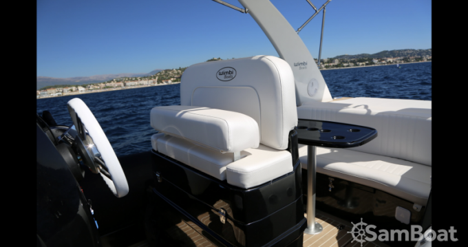 Location Semi-rigide Wimbi Boats avec permis