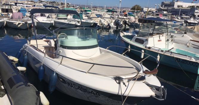 Louer Bateau à moteur avec ou sans skipper Sessa Marine à Marseille
