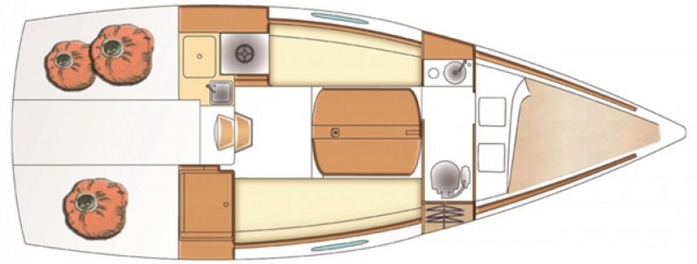 Hire Sailboat with or without skipper Bénéteau Lège-Cap-Ferret