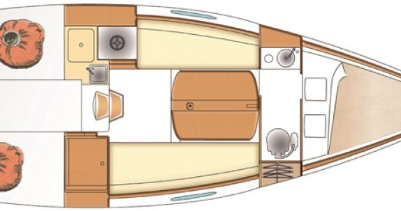 Location yacht à Claouey - Bénéteau First 25 sur SamBoat