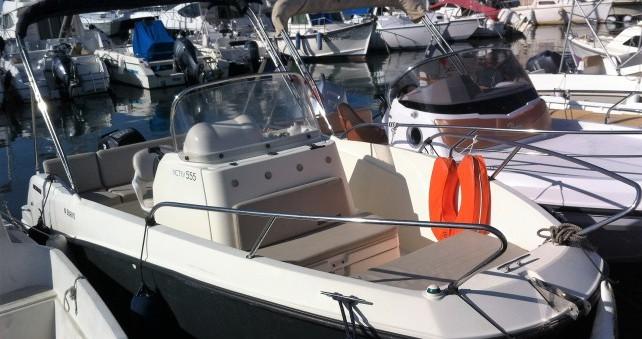 Noleggio yacht Cannes - Quicksilver Activ 555 Open su SamBoat