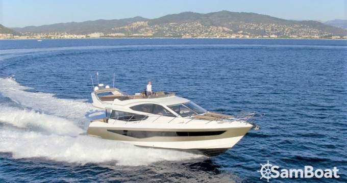 Location bateau Vallauris pas cher Galeon 550 Fly