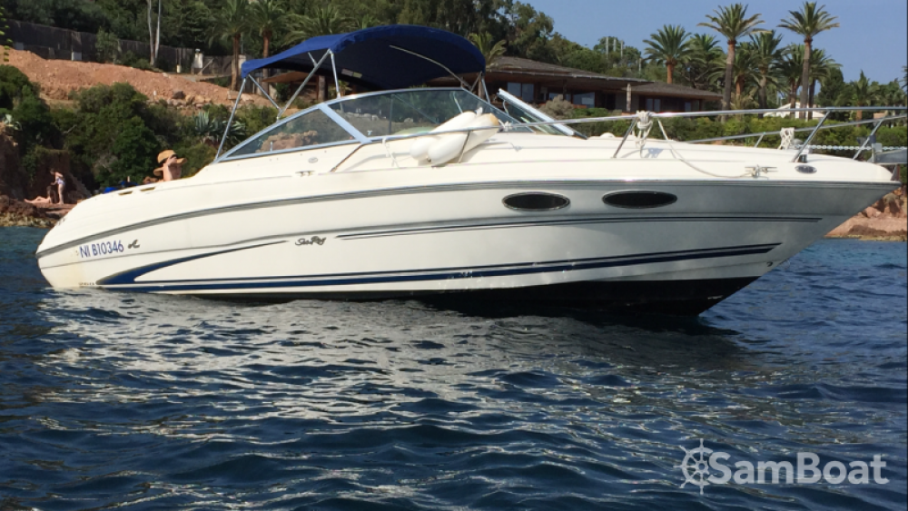 Rent a Sea Ray Sea Ray 260 Mandelieu-la-Napoule