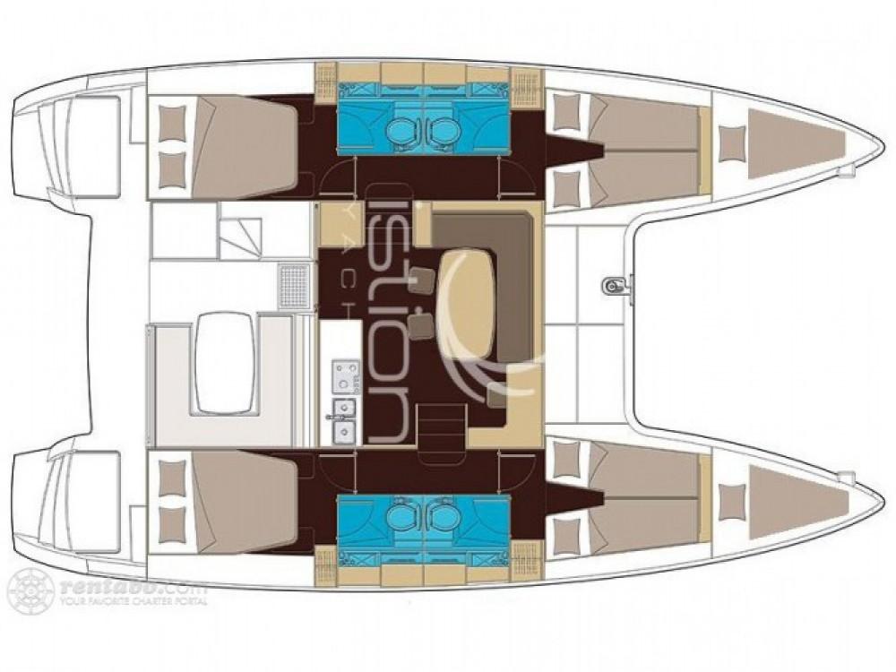 Location Catamaran à Furnari - Lagoon Lagoon 42
