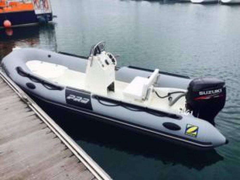 Bootverhuur Zodiac Pro 550 in Brest via SamBoat