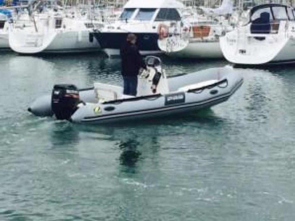 Verhuur Rubberboot in Brest - Zodiac Pro 550