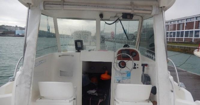 Location Bateau à moteur à Brest - Jeanneau Merry Fisher