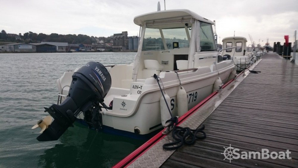 Jeanneau merry fisher between personal and professional Dieppe