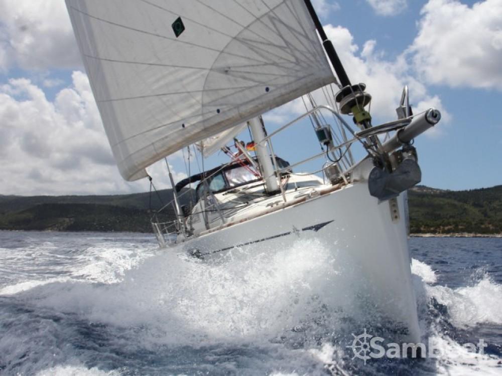 Jeanneau Sun Odyssey 54DS zwischen Privatpersonen und professionellem Anbieter Lefkada