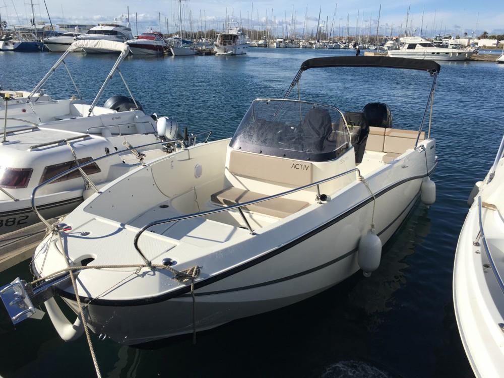 Location bateau Agde pas cher Activ 755 Open
