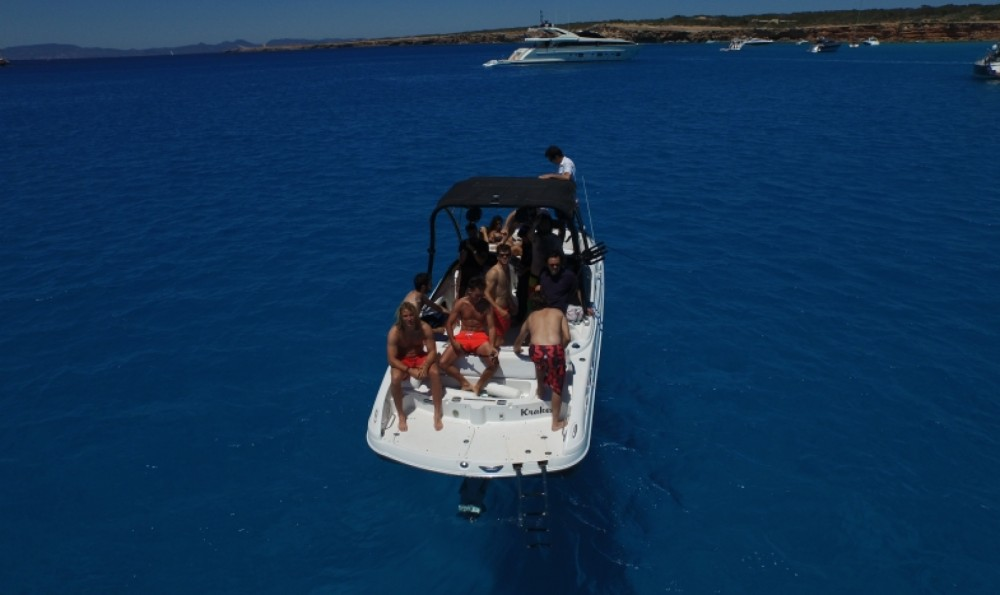 Hire Motor boat with or without skipper Ebb Tide La Savina