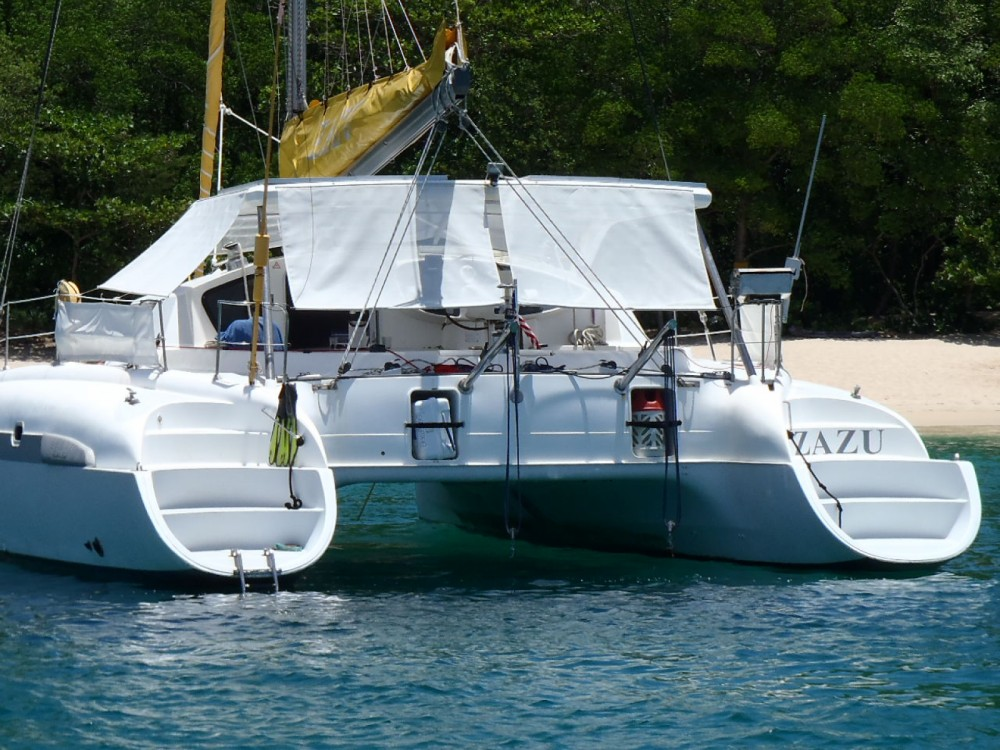 Fountaine Pajot Bahia 46 between personal and professional Saint-François