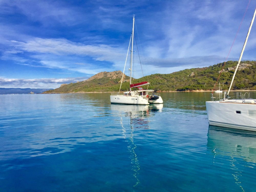 Location yacht à Hyères - Lagoon Lagoon 400 sur SamBoat