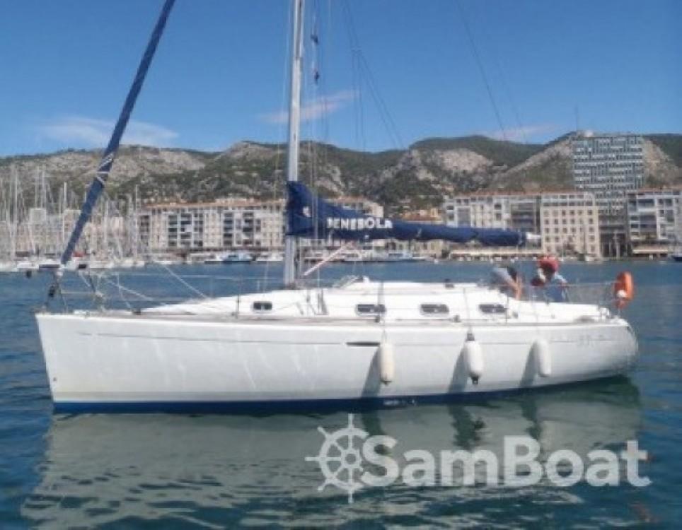 location voilier b n teau first 33 7 la tirrassiero samboat. Black Bedroom Furniture Sets. Home Design Ideas