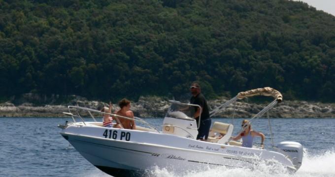 Location bateau Bluline Bluline 19 à Vrsar sur Samboat