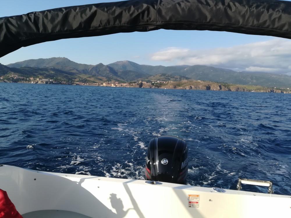 Quicksilver Activ 555 Cabin entre particuliers et professionnel à Argelès-sur-Mer