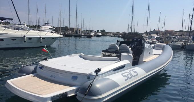 Semi-rigide à louer à Cagliari au meilleur prix