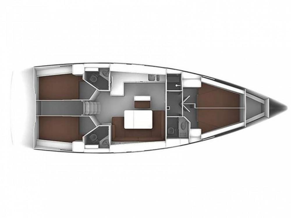 Boat rental Marina Gouvia cheap Bavaria Cruiser 46