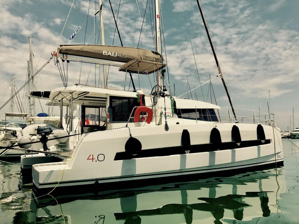 Boat rental Marina Gouvia cheap Bali 4.0..