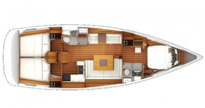 Location yacht à Nieuport - Jeanneau Sun Odyssey 439 sur SamBoat
