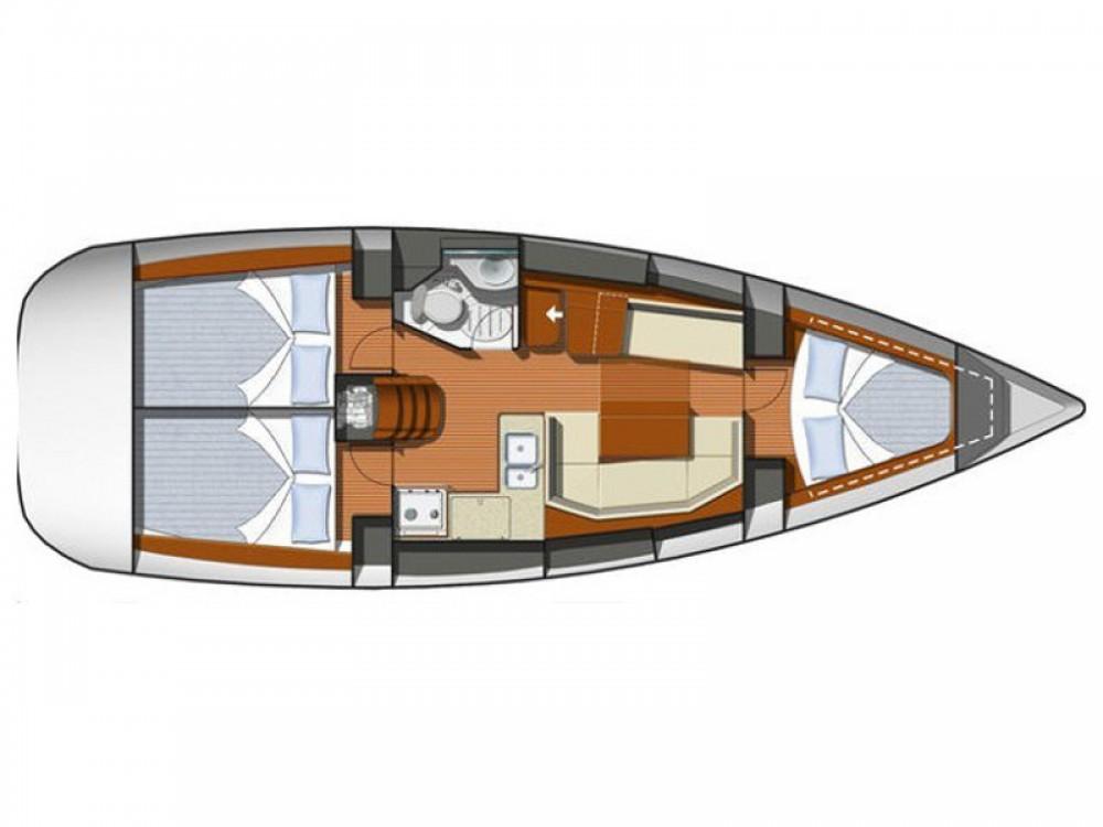 Bootsverleih Jeanneau Sun Odyssey 36i Nieuwpoort Samboat