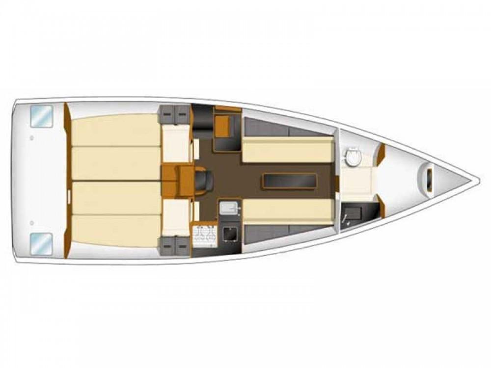 Location bateau Zeebruges pas cher Sun Fast 3200