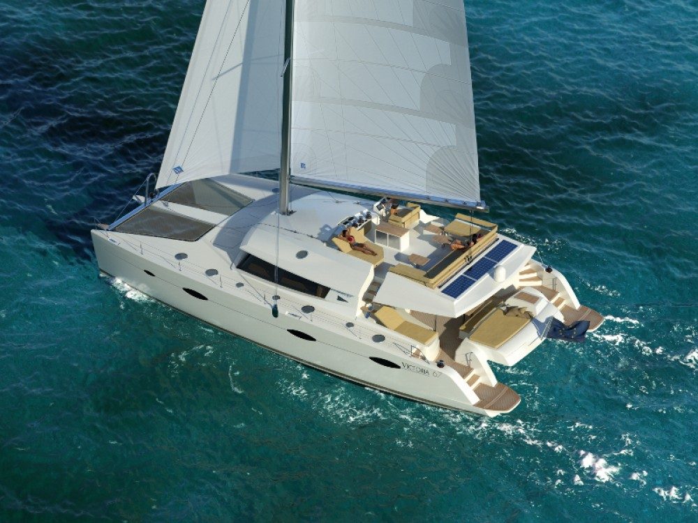 Rental yacht Gassin - Fountaine Pajot Victoria 67 on SamBoat