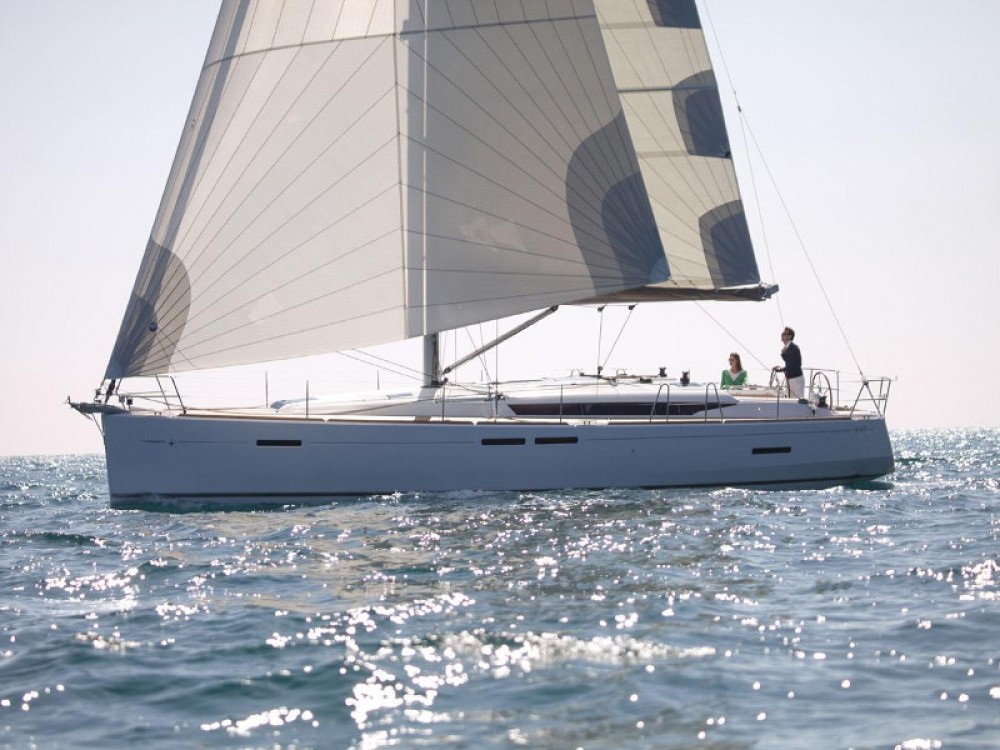 Jeanneau Sun Odyssey 449 between personal and professional Alimos Marina