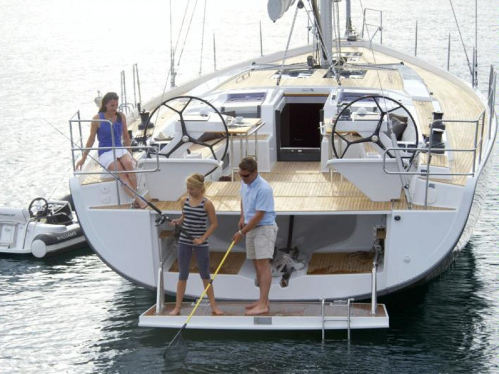 Hire Sailboat with or without skipper Hanse Marina Gouvia