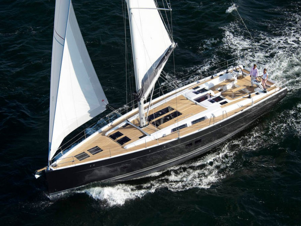 Hanse Hanse 575 between personal and professional Marina Gouvia